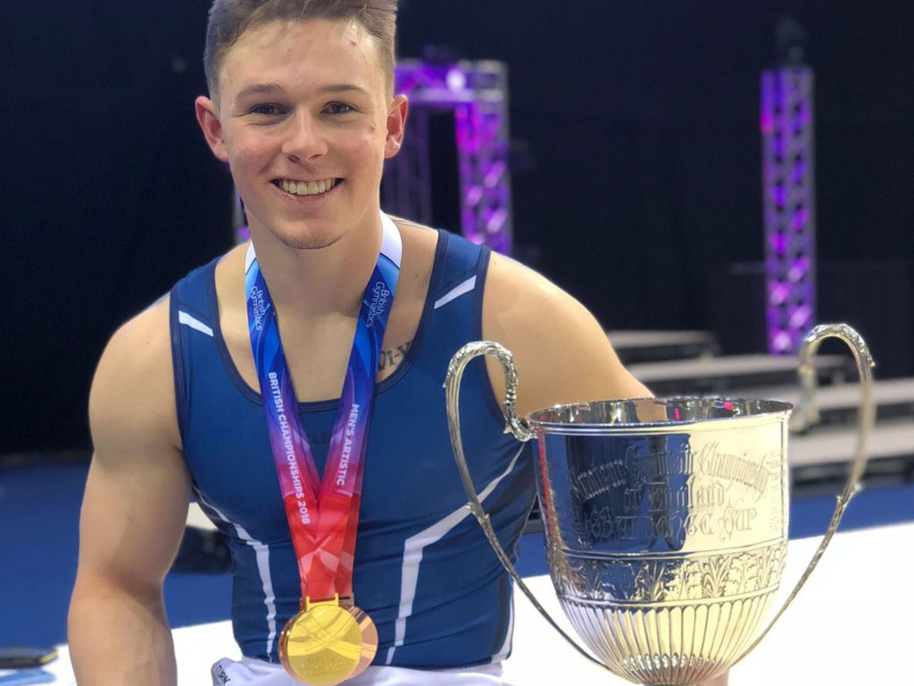 Brinn wins gold at the 2018 British Championships